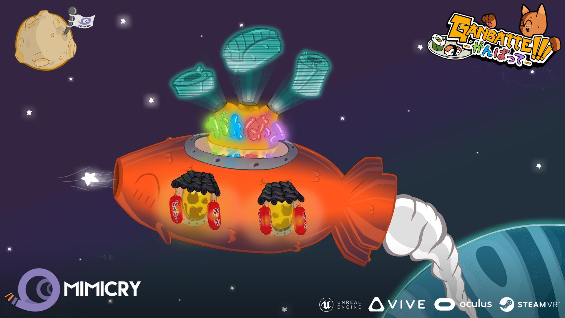 Ganbatte Koy Space Promo Platforms