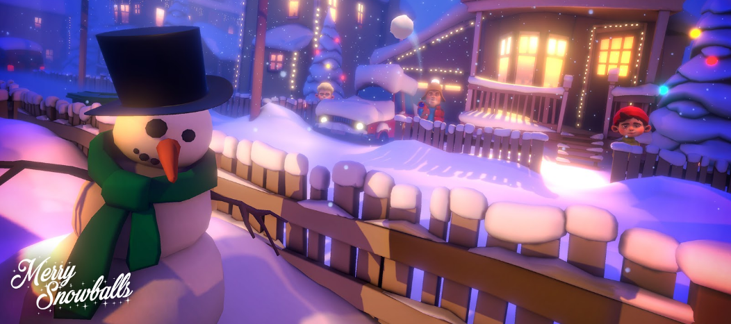 merry snowballs world