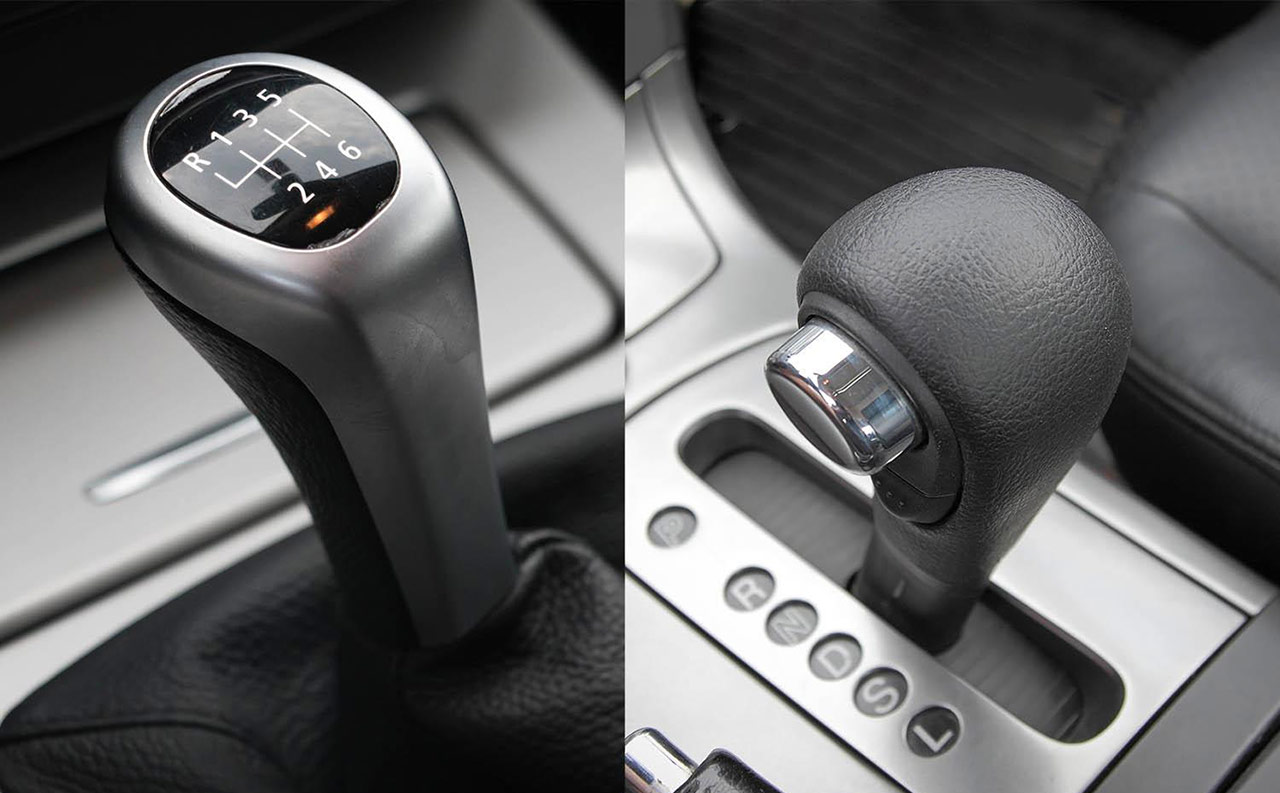 Automatic versus manual
