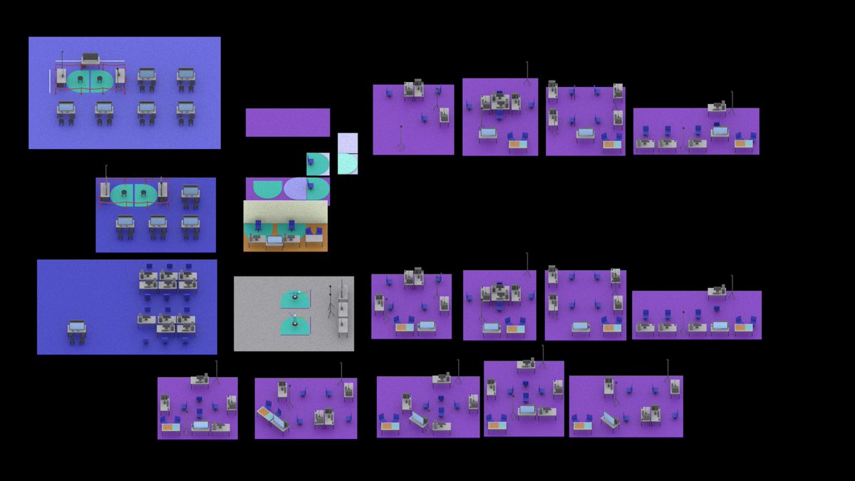 Evolution of Ganbatte's booth layout plan for Lisboa Games Week. Space is of the utmost importance in order to create a safe playing environment. However, space is also very limited (and expensive), during tradeshows. I leave the final version as a surprise!