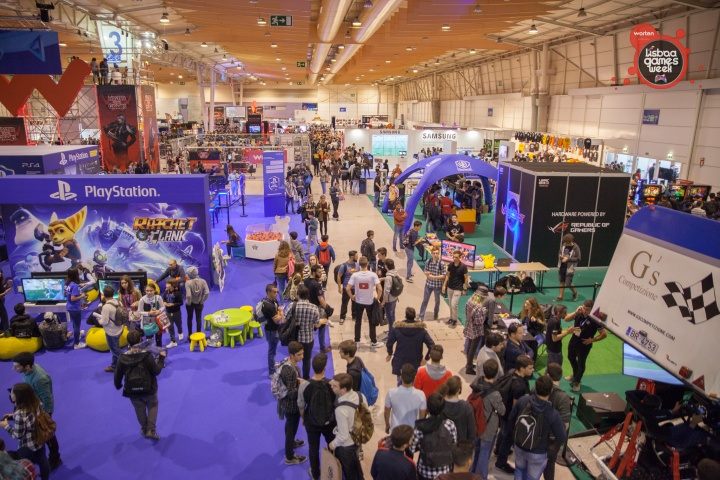 Lisboa Games Week show floor